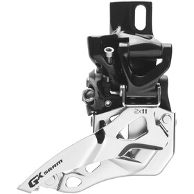 SRAM GX Dérailleur avant 2x11 vitesses High Direct Mount Top Pull, black/silver